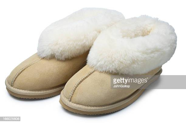 slippers - fluffy stock pictures, royalty-free photos & images
