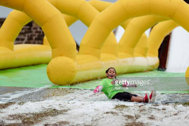slipping and sliding - endurance race stock pictures, royalty-free photos & images