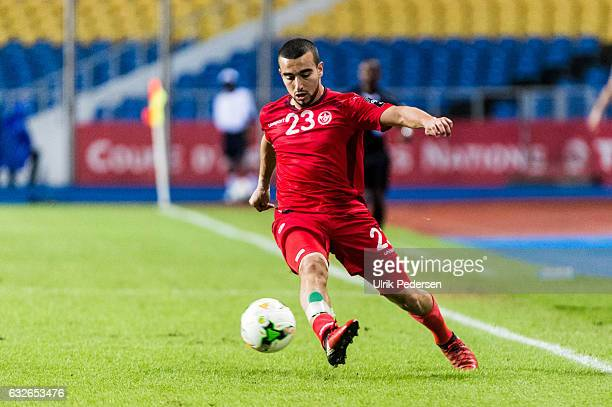 Sliti Naim of Tunisia during the African Nations Cup match between Zimbabwe and Tunisia on January 23 2017 in Libreville Gabon