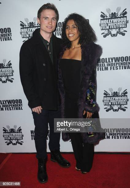 Sloan Morgan Segal attends the 17th Annual Hollywood Reel Independent Film Festival Award Ceremony Red Carpet Event held at Regal Cinemas LA LIVE...