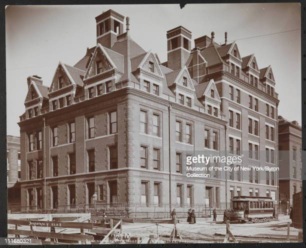Sloane Maternity Hospital 59th St Amster Ave New York New York late 1890s