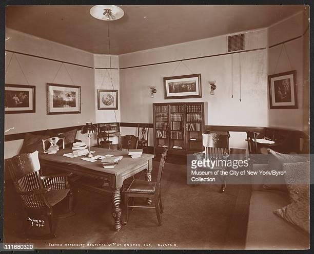 Sloane Maternity Hospital, 59th St Amster. Ave, Nurses R, New York, New York, late 1890s.