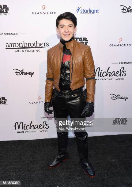 Sloane Morgan Siegel at the Dream Halloween 2017 Costume Party Benefitting Starlight Children's Foundation presented by Michaels and Aaron Brothers...
