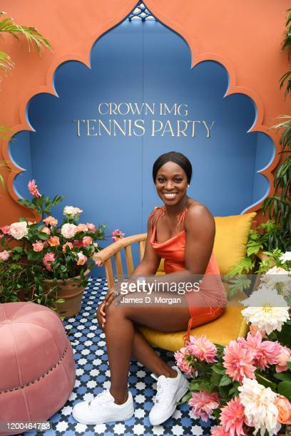 Sloane Stephens attends the Crown IMG Tennis Party on January 19 2020 in Melbourne Australia