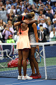 sloane stephens united states hugs madison