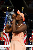 sloane stephens united states poses during