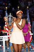 sloane stephens united states poses with