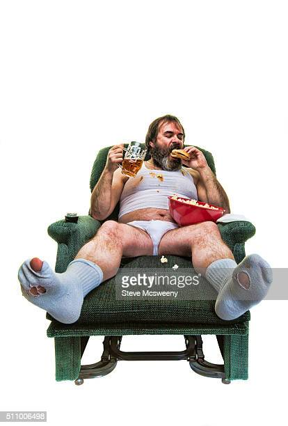 slob - men in white socks stock photos and pictures