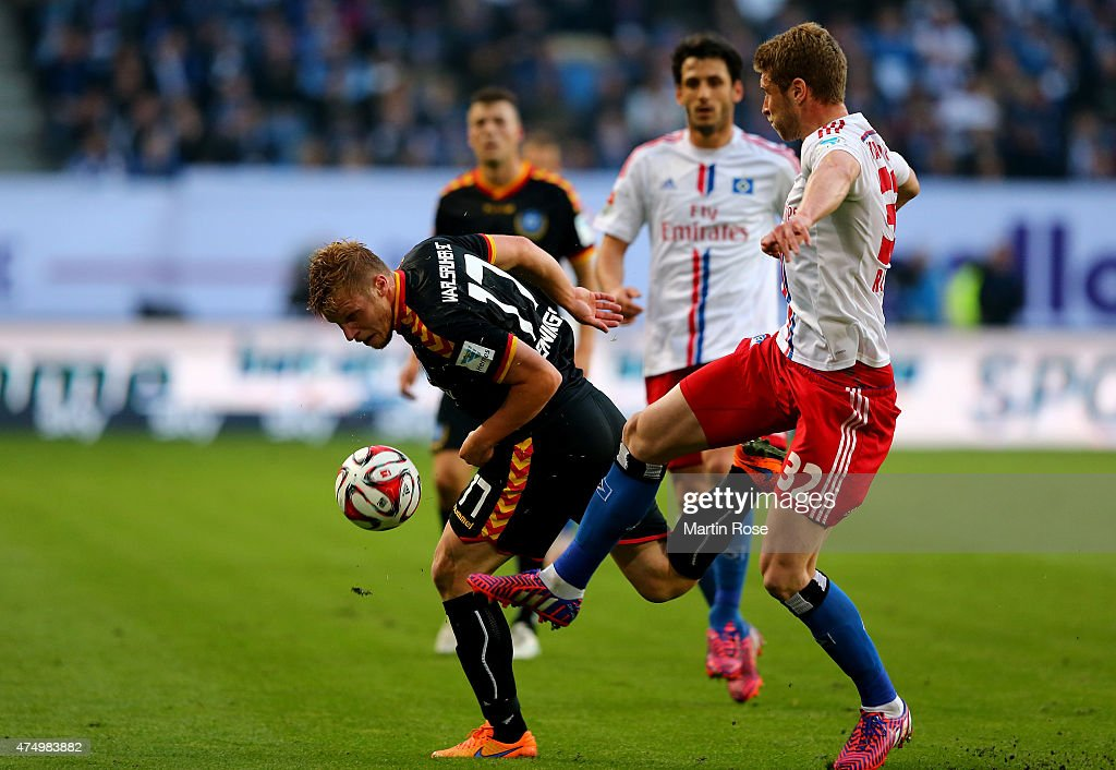 Hamburger SV v Karlsruher SC - Bundesliga Playoff First Leg