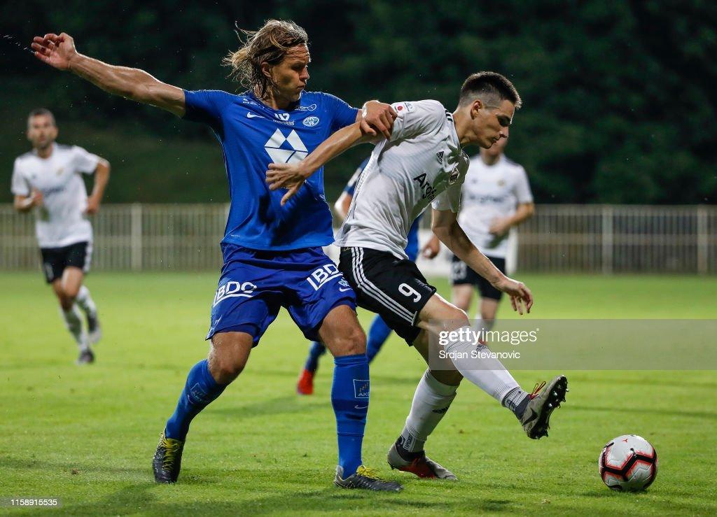 Cukaricki v Molde ñ UEFA Europa League Second Qualifying round: 2nd Leg : ニュース写真