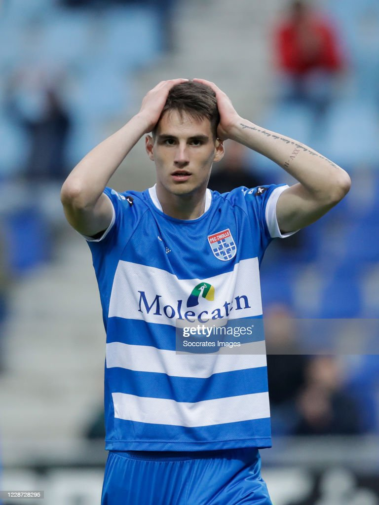 Slobodan Tedic Of Pec Zwolle During The Dutch Eredivisie Match News Photo Getty Images