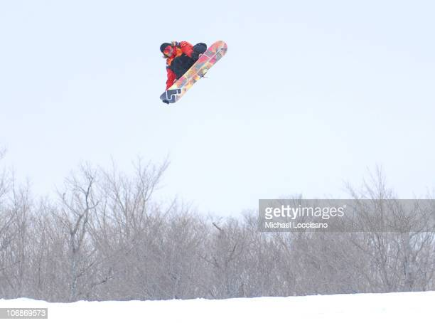 Slopestyle Finals March 19th during 24th Annual Burton US Open Snowboarding Championships at Stratton Mountain in Stratton Vermont United States