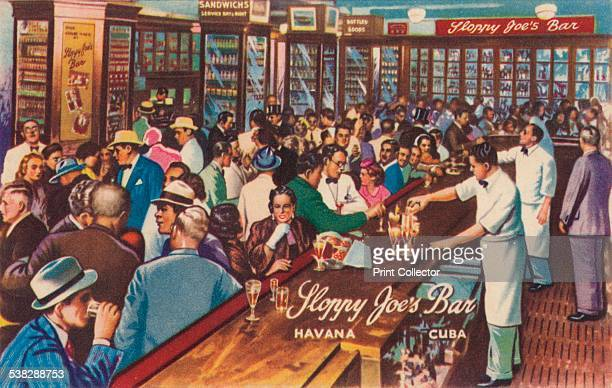 Sloppy Joe's Bar Havana Cuba 1951 The world famous Sloppy Joe's welcomed tourists for over four decades and offered over 80 cocktails in addition to...