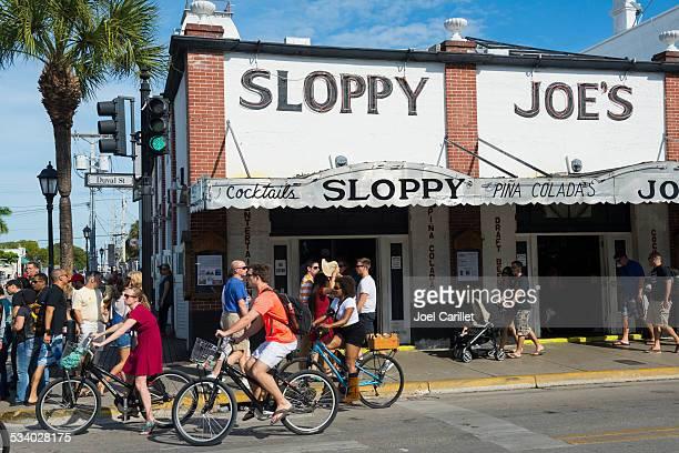 bar sloppy joe em key west, flórida - sloppy joe, jr - fotografias e filmes do acervo