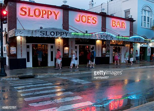 sloppy joe's bar - sloppy joe, jr stock-fotos und bilder