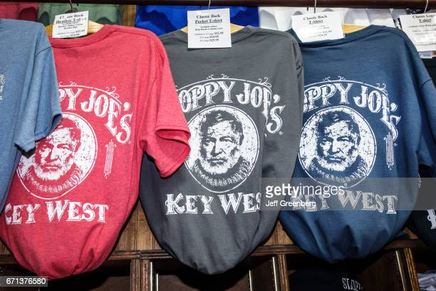 Sloppy Joe's Bar souvenirs tee shirts.