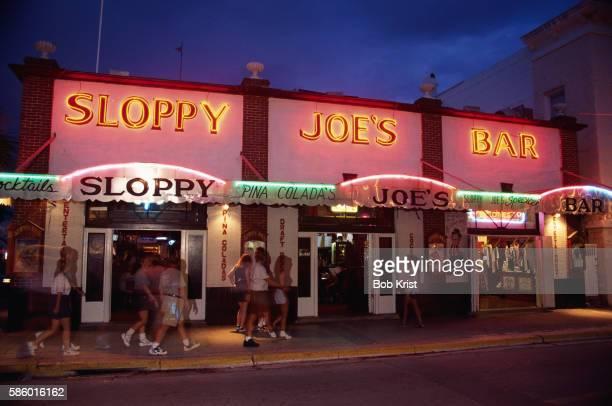 sloppy joe's on duval street - sloppy joe, jr stock-fotos und bilder