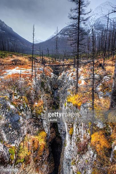Slot Canyon in British Columbia