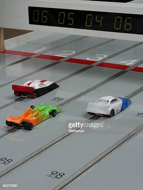 Slot car-rennen