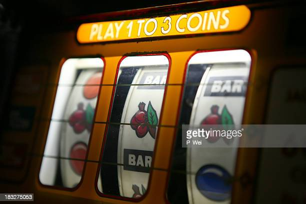 slot machine - coin operated stock photos and pictures