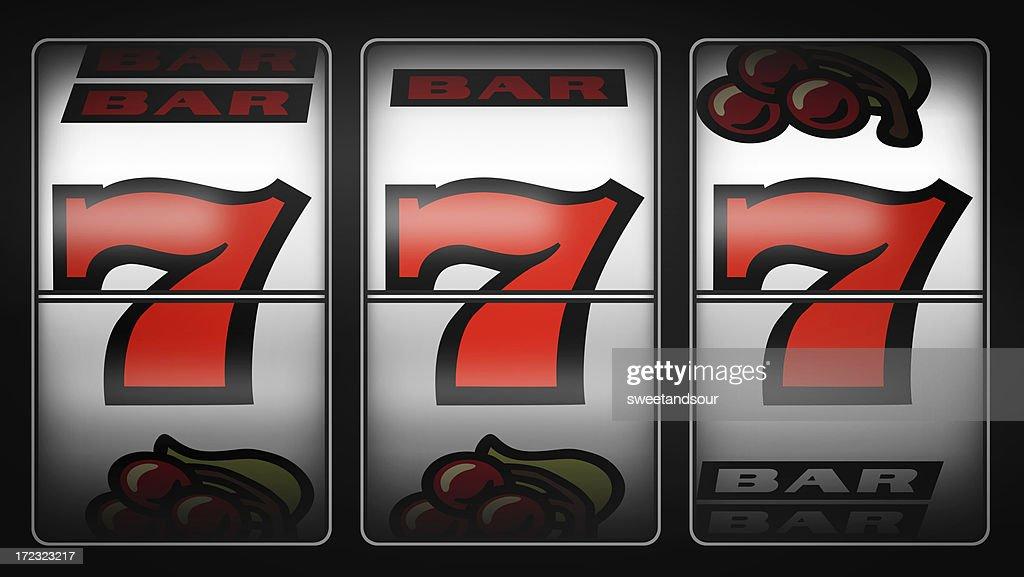 Slot Machine Winner 777 Stock Photo | Getty Images