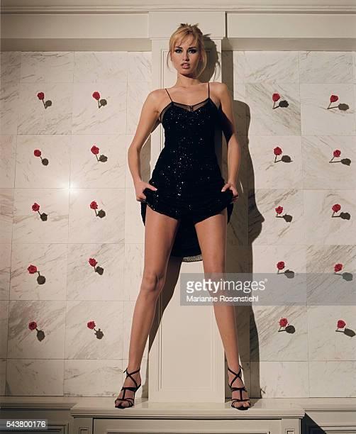 Slovak model Adriana Karembeu is married to French soccer player Christian Karembeu