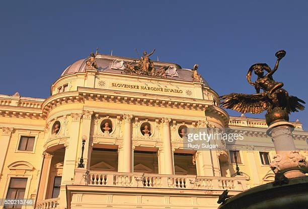 slovak national theatre - utc−10:00 stock pictures, royalty-free photos & images