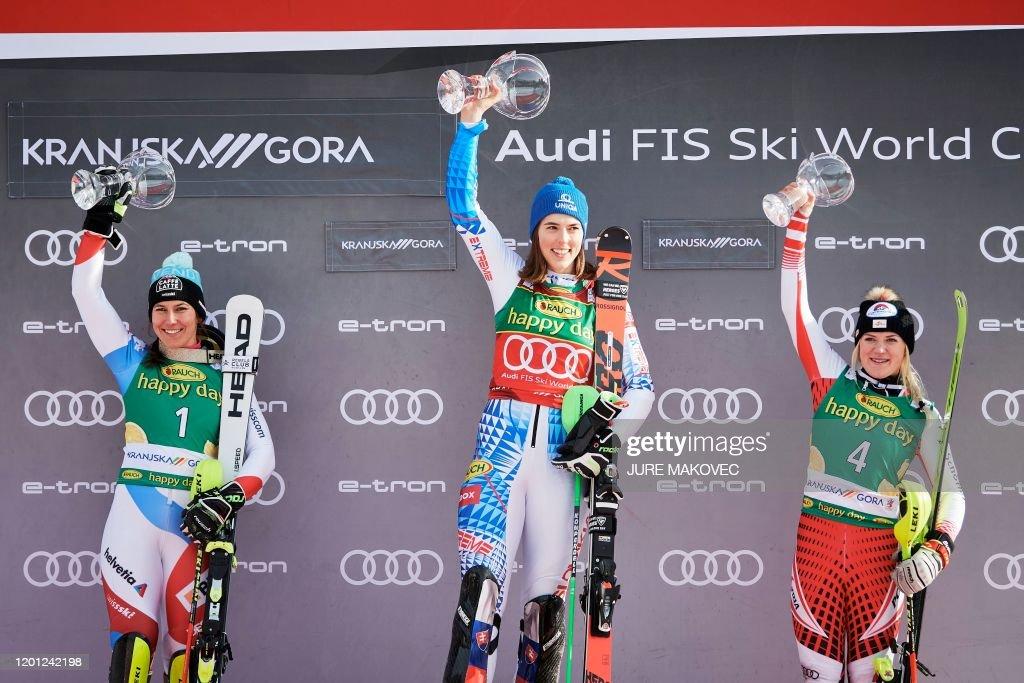 SKIING-ALPINE-WORLD-SLO-WOMEN : News Photo