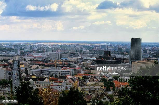 Slovakia Bratislava Overview Of New Town