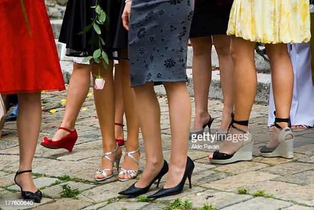 slovakia, bratislava, wedding - skirt stock pictures, royalty-free photos & images