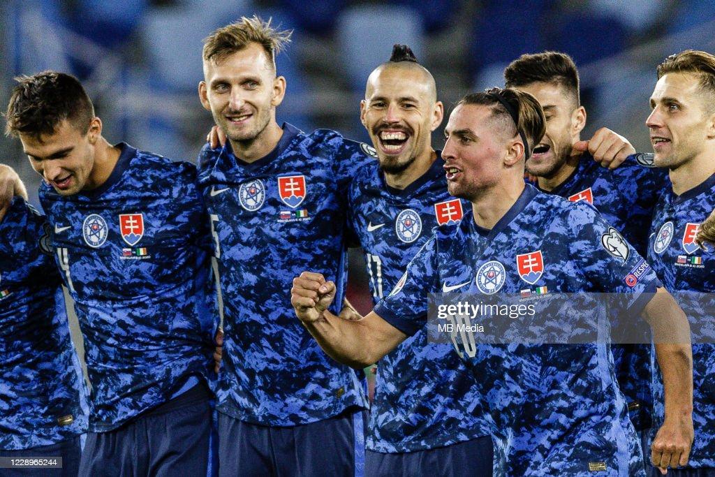 Slovakia v Republic of Ireland - UEFA EURO 2020 Play-Off Semi-Finals : News Photo