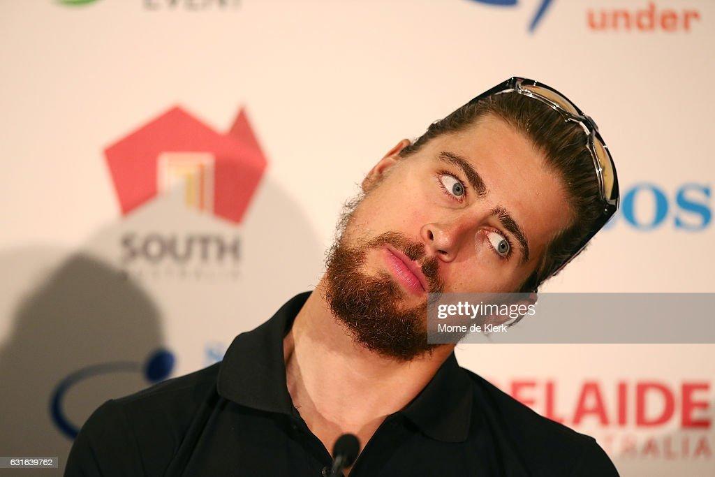 2017 Tour Down Under Press Conference : ニュース写真