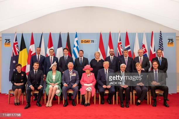 Slovakian Deputy Prime Minister Richard Rasi Polish Prime Minister Mateusz Morawiecki Canadian Prime Minister Justin Trudeau Luxembourg's Prime...