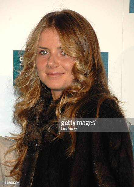 Slovakian tennis player Daniela Hantuchova arrives to Sony Ericsson Championship Party at ME Hotel on November 10 2007 in Madrid Spain