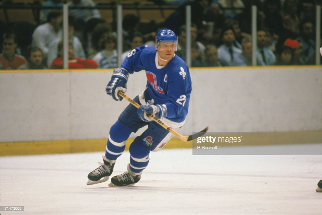 Peter Stastny Of The Nordiques : News Photo