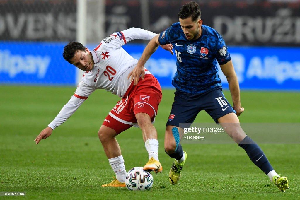 FBL-WC-2022-EUR-QUALIFERS-SVK-MLT : News Photo