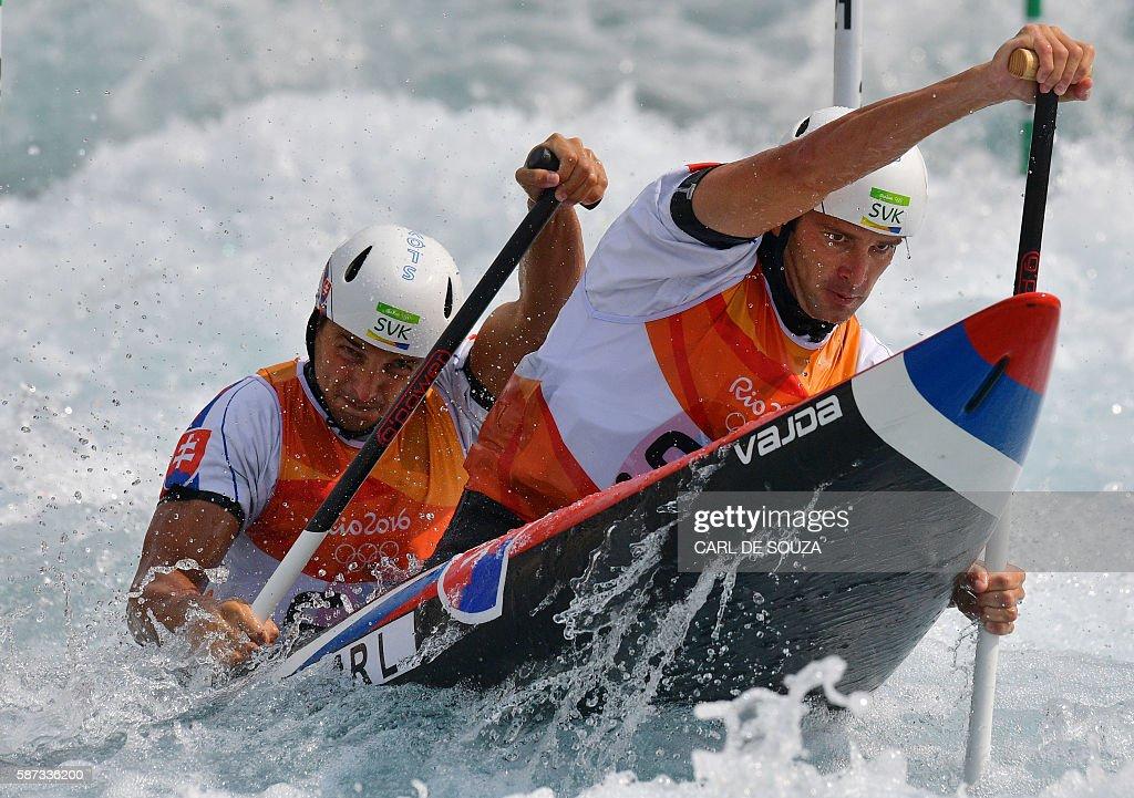 CANOE-SLALOM-OLY-2016-RIO : News Photo