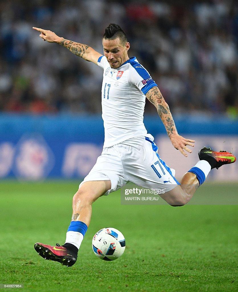 FBL-EURO-2016-MATCH13-RUS-SVK : Nieuwsfoto's