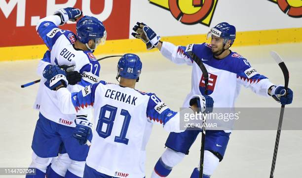 SVK: Great Britain v Slovakia: Group A - 2019 IIHF Ice Hockey World Championship Slovakia