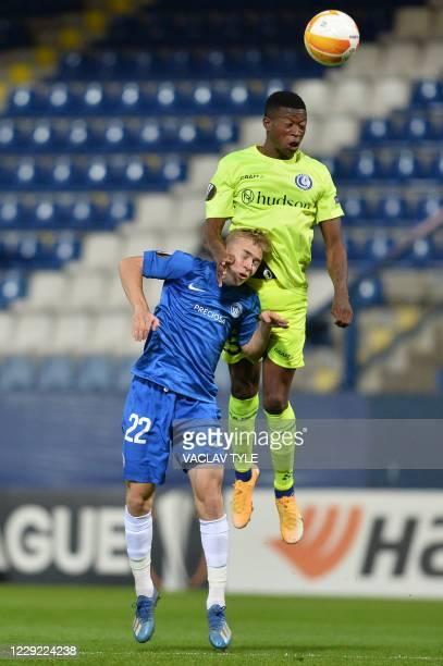 CZE: FC Slovan Liberec v KAA Gent: Group L - UEFA Europa League