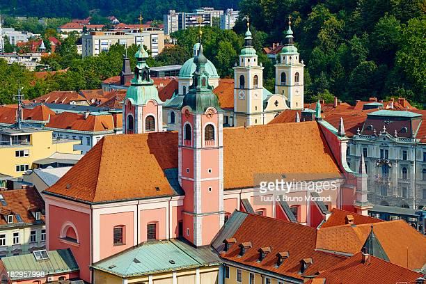 slovenia, ljubljana, cityscape - リュブリャナ ストックフォトと画像
