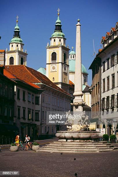 Slovenia, Ljubljana, Mestni trg