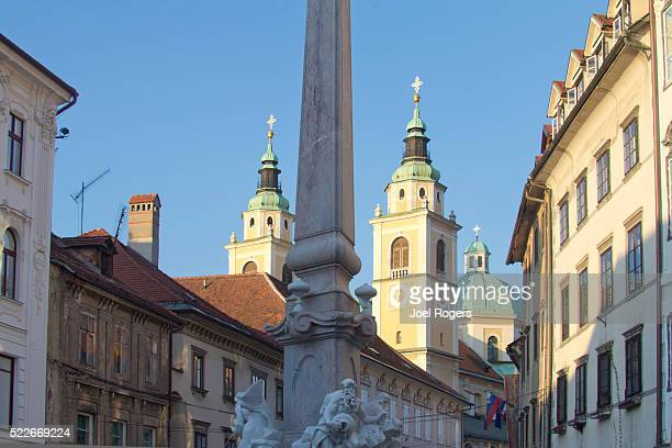 slovenia, ljubljana, old city, - joel rogers stock pictures, royalty-free photos & images