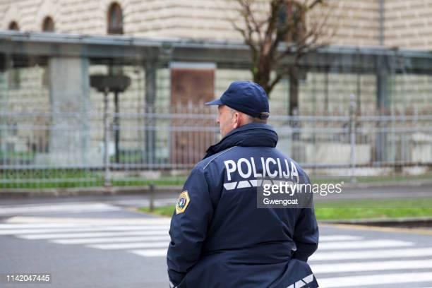 Slovenian policeman