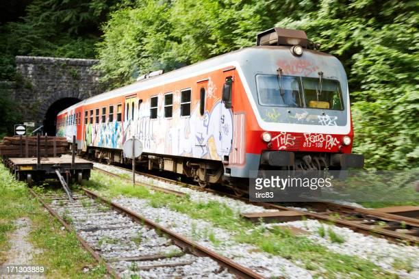 Slowenische Bahn