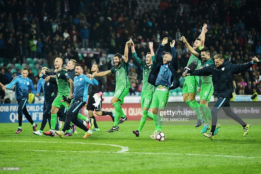 FBL-WC-2018-SVN-SVK : News Photo
