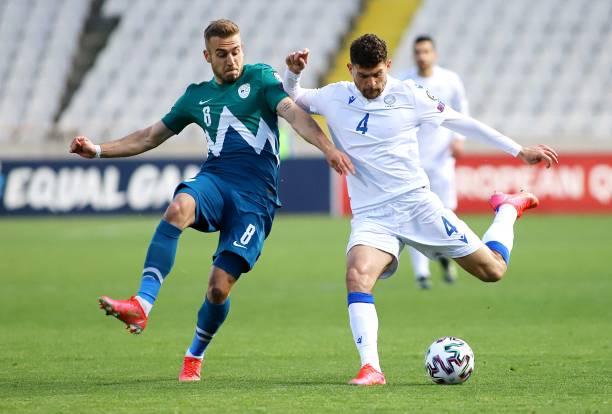 CYP: Cyprus v Slovenia - FIFA World Cup 2022 Qatar Qualifier