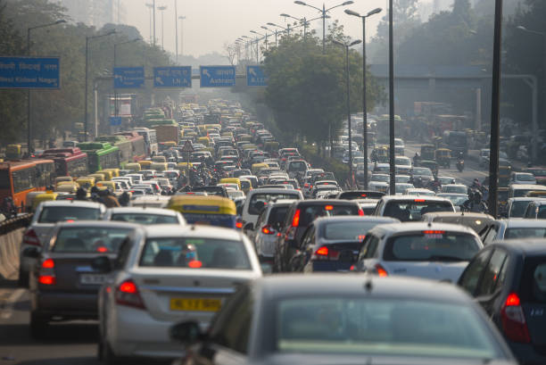 IND: Heavy Jams As Many Delhi Roads Shut Day After Violence