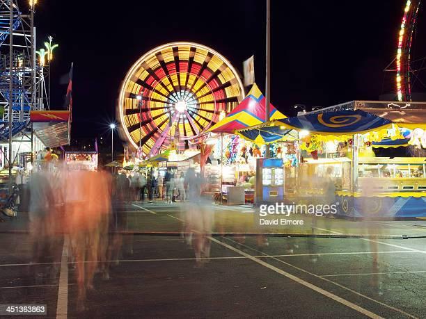 CONTENT] Slow shutter night shot of the Virginia State Fair in Salem Virginia Summer 2012