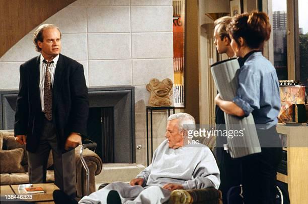 FRASIER Slow Tango in South Seattle Episode 1 Pictured Kelsey Grammer as Doctor Frasier Crane John Mahoney as Martin Crane David Hyde Pierce as...